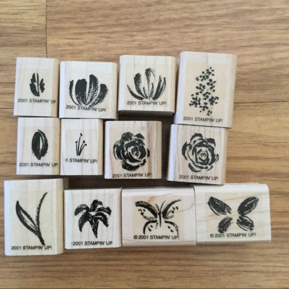 Stampin' Up! Two-Step Stampin Watercolor Minis EUC